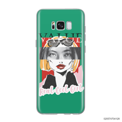 CUSTOM YOUR EYES WITH COOL GIRL - Samsung Galaxy S8 plus