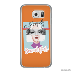 CUSTOM YOUR EYES WITH BEAUTIFUL GIRL - Samsung Galaxy S6 Edge