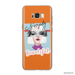 CUSTOM YOUR EYES WITH BEAUTIFUL GIRL - Samsung Galaxy S8
