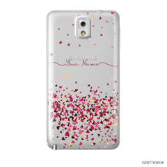 YOUR NAME WITH PINKY HEART - Samsung Galaxy Note 3
