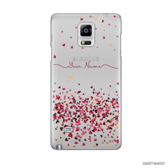 YOUR NAME WITH PINKY HEART - Samsung Galaxy Note 4