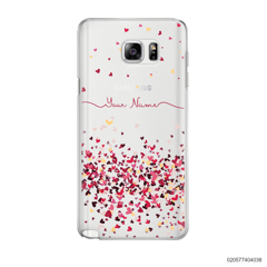 YOUR NAME WITH PINKY HEART - Samsung Galaxy Note 5
