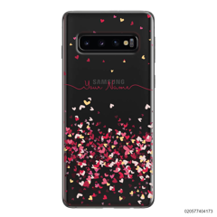 YOUR NAME WITH PINKY HEART - Samsung Galaxy S10