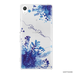 YOUR NAME WITH BLUE PLANT - Sony Xperia Z2
