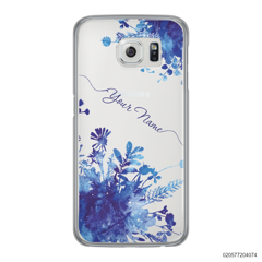 YOUR NAME WITH BLUE PLANT - Samsung Galaxy S6 Edge