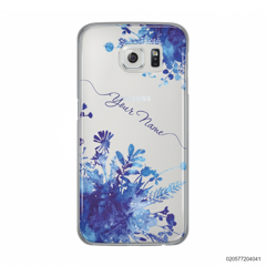 YOUR NAME WITH BLUE PLANT - Samsung Galaxy S6