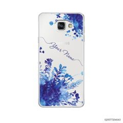 YOUR NAME WITH BLUE PLANT - Samsung Galaxy A5 2016