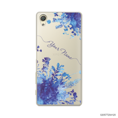 YOUR NAME WITH BLUE PLANT - Sony Xperia X
