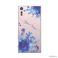 YOUR NAME WITH BLUE PLANT - Sony Xperia XZ