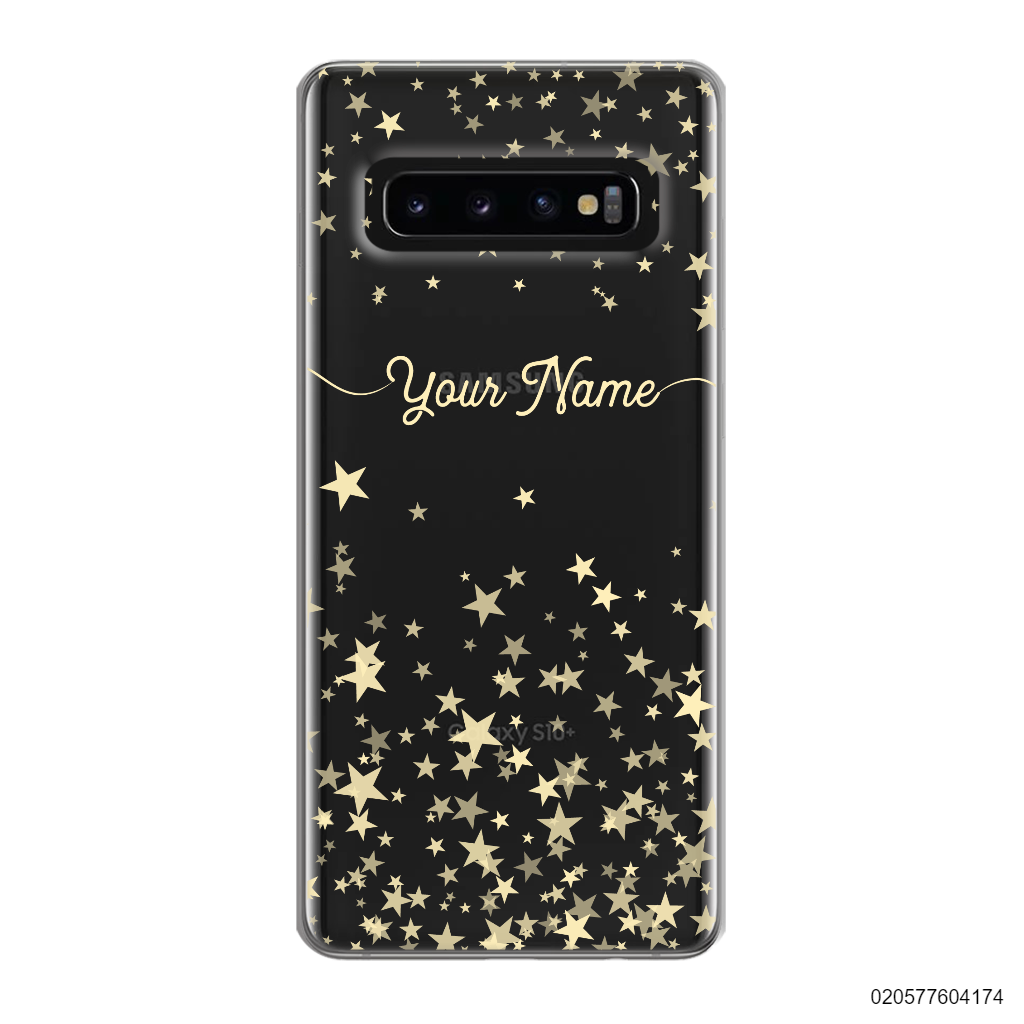 YOUR NAME WITH TWINKLE STARS - Samsung Galaxy S10 Plus