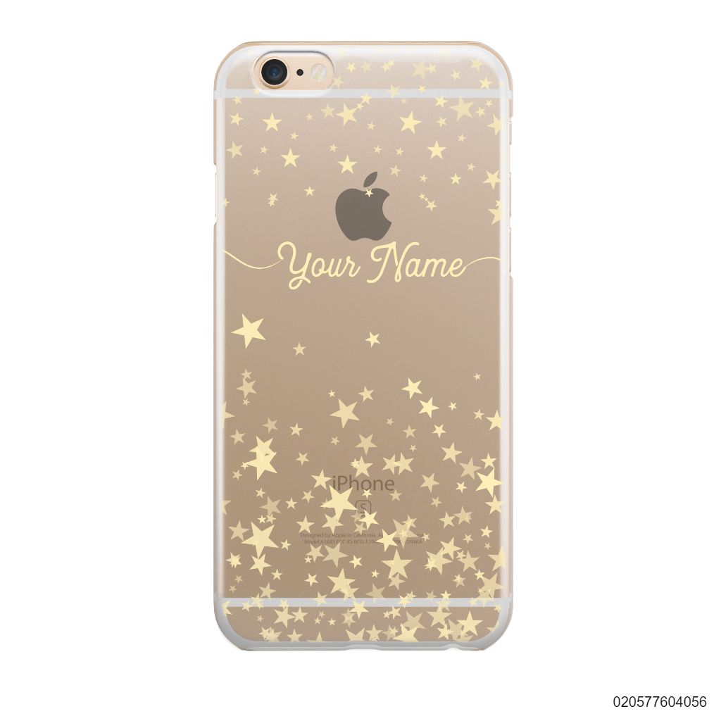 YOUR NAME WITH TWINKLE STARS - iPhone 6/6s Plus