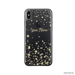 YOUR NAME WITH TWINKLE STARS - iPhone X/ Xs