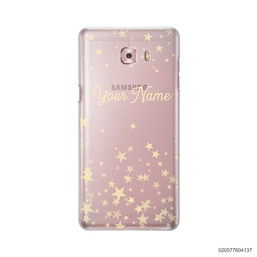 YOUR NAME WITH TWINKLE STARS - Samsung Galaxy C9 Pro