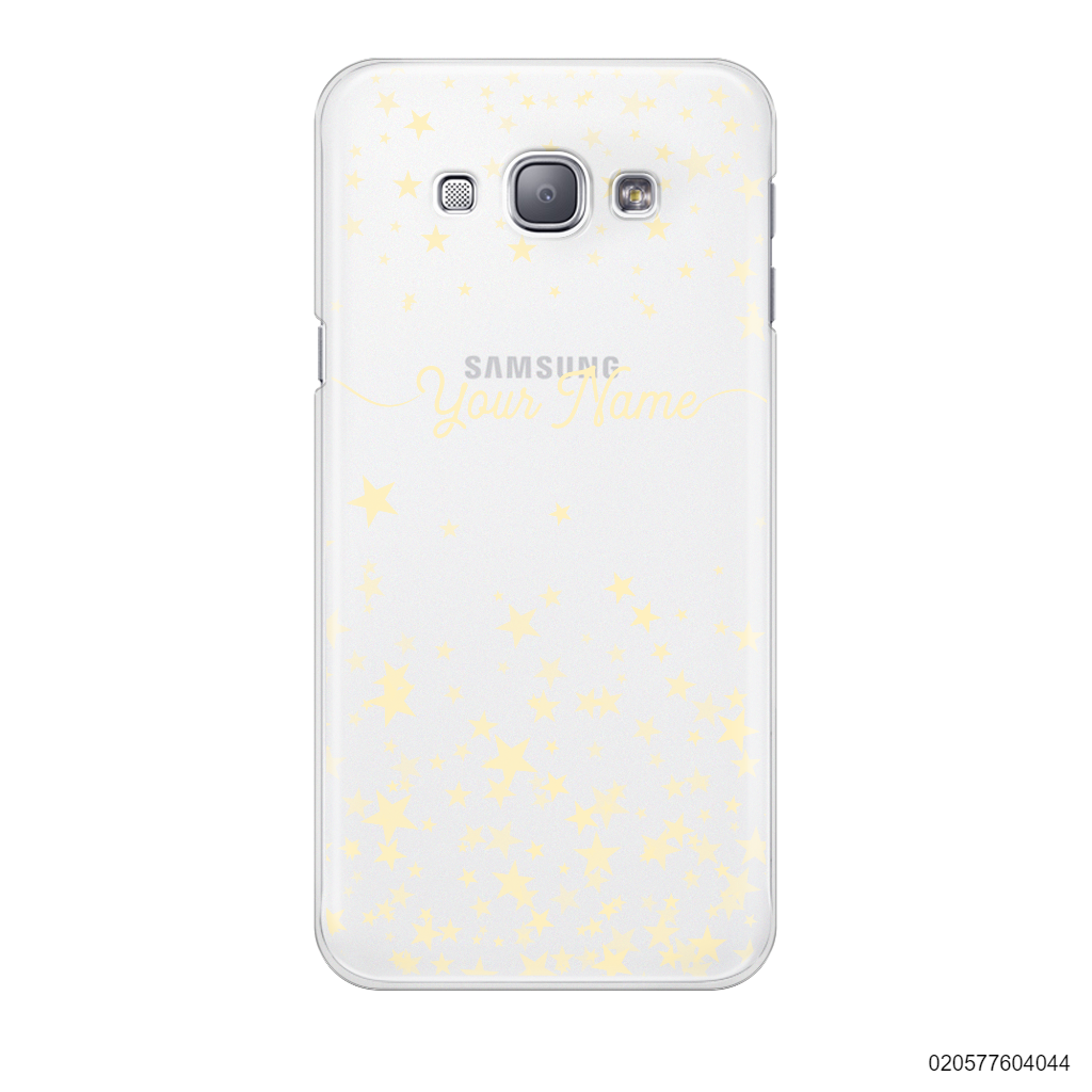 YOUR NAME WITH TWINKLE STARS - Samsung Galaxy A8 2015