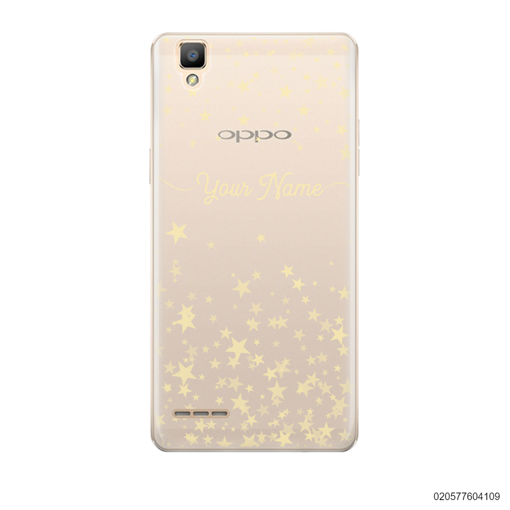 YOUR NAME WITH TWINKLE STARS - Oppo F1