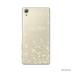 YOUR NAME WITH TWINKLE STARS - Sony Xperia X