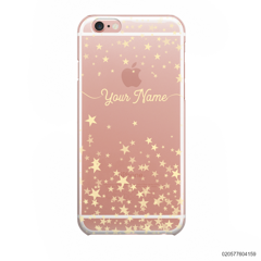 YOUR NAME WITH TWINKLE STARS - iPhone 6/6s
