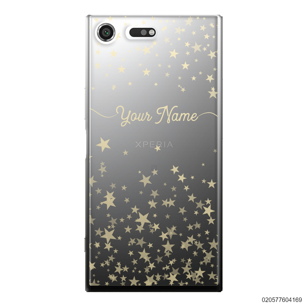 YOUR NAME WITH TWINKLE STARS - Sony Xperia XZ Premium