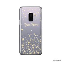 YOUR NAME WITH TWINKLE STARS - Samsung Galaxy A8 2018