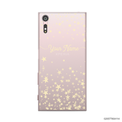 YOUR NAME WITH TWINKLE STARS - Sony Xperia XZ