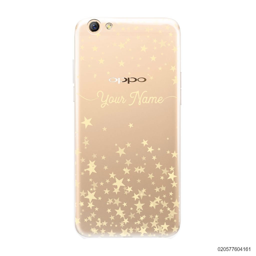 YOUR NAME WITH TWINKLE STARS - OPPO F3 Plus