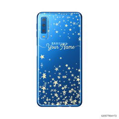 YOUR NAME WITH TWINKLE STARS - Samsung Galaxy A7 2018