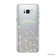 YOUR NAME WITH TWINKLE STARS - Samsung Galaxy S8 plus
