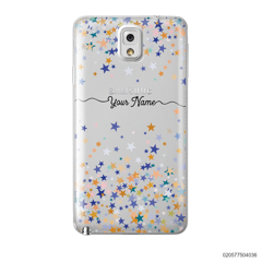 YOUR NAME WITH COLORFUL STARS - Samsung Galaxy Note 3