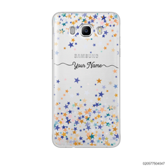 YOUR NAME WITH COLORFUL STARS - Samsung Galaxy J7 2016