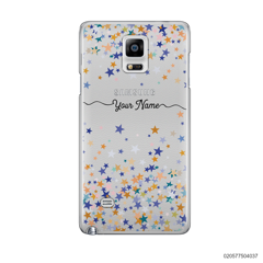 YOUR NAME WITH COLORFUL STARS - Samsung Galaxy Note 4