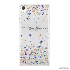 YOUR NAME WITH COLORFUL STARS - Sony Xperia Z2