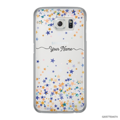 YOUR NAME WITH COLORFUL STARS - Samsung Galaxy S6 Edge