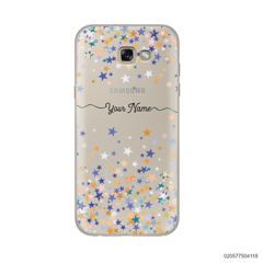 YOUR NAME WITH COLORFUL STARS - Samsung Galaxy A5 2017