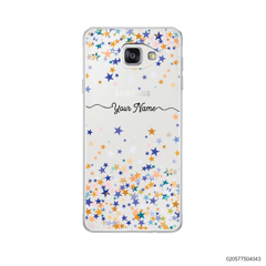 YOUR NAME WITH COLORFUL STARS - Samsung Galaxy A5 2016