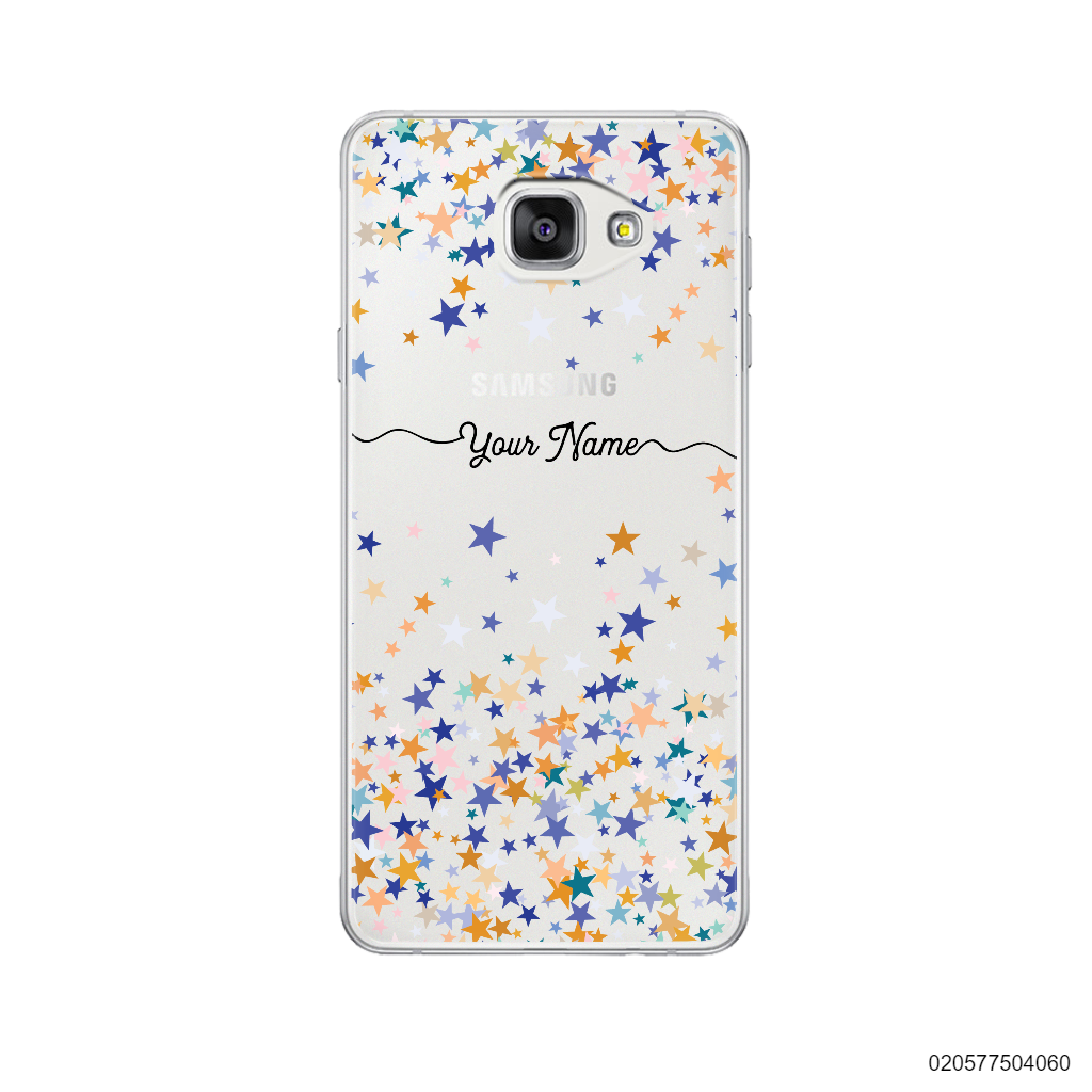 YOUR NAME WITH COLORFUL STARS - Samsung Galaxy A7 2016