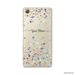 YOUR NAME WITH COLORFUL STARS - Sony Xperia X
