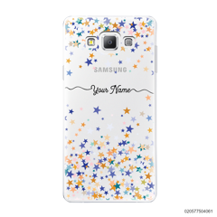 YOUR NAME WITH COLORFUL STARS - Samsung Galaxy A7 2015