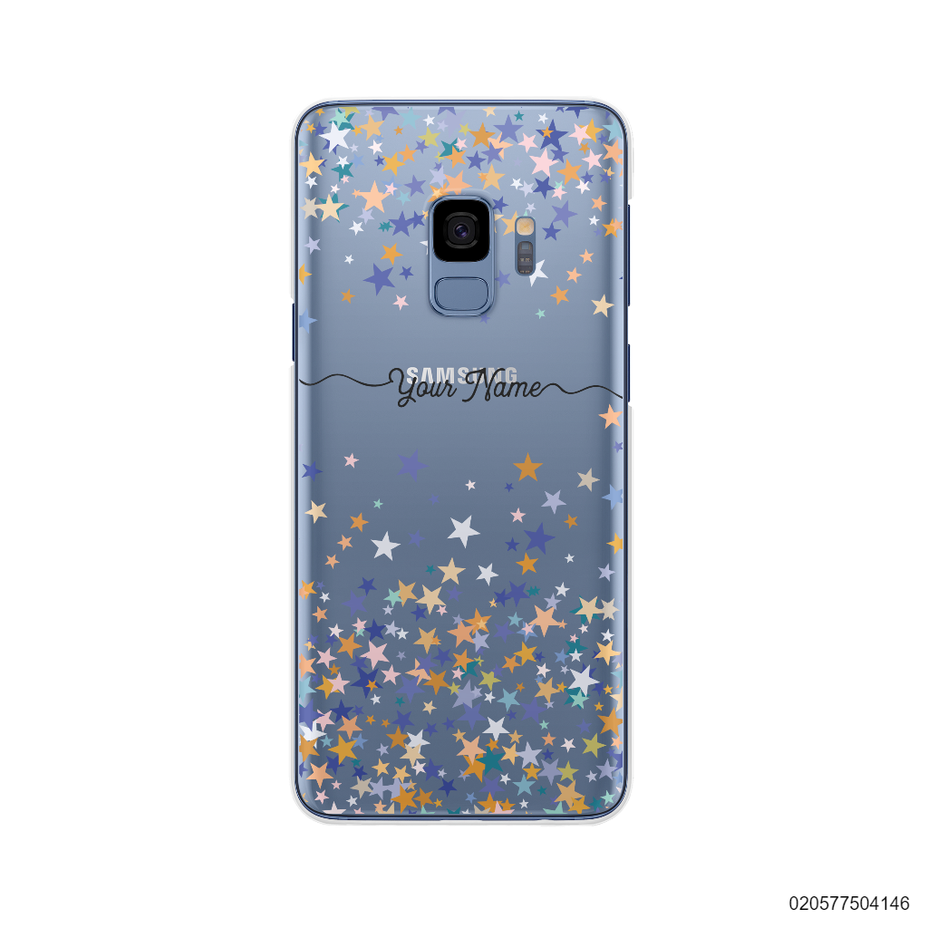 YOUR NAME WITH COLORFUL STARS - Samsung Galaxy S9