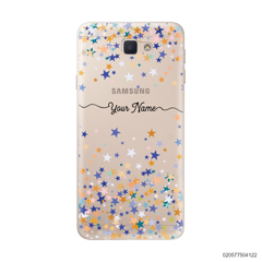 YOUR NAME WITH COLORFUL STARS - Samsung Galaxy J5 Prime