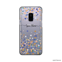 YOUR NAME WITH COLORFUL STARS - Samsung Galaxy A8 2018