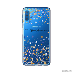 YOUR NAME WITH COLORFUL STARS - Samsung Galaxy A7 2018