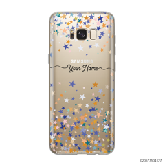 YOUR NAME WITH COLORFUL STARS - Samsung Galaxy S8