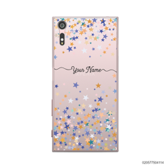 YOUR NAME WITH COLORFUL STARS - Sony Xperia XZ