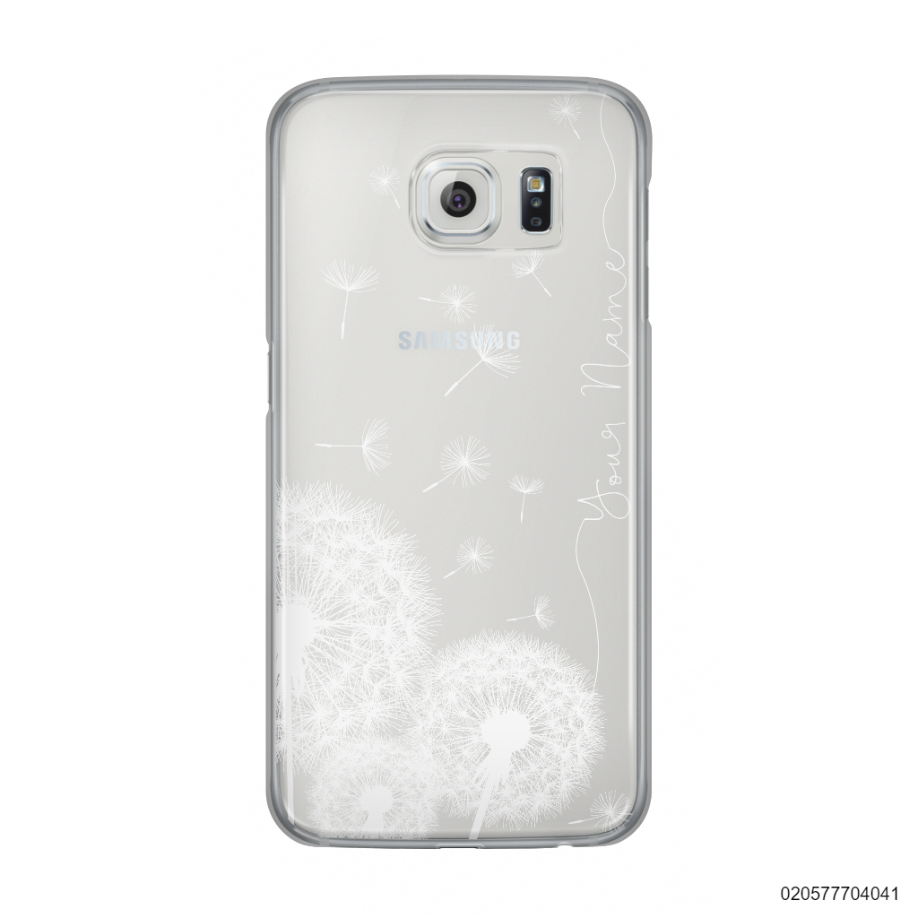 YOUR NAME WITH DANDELIONS - Samsung Galaxy S6