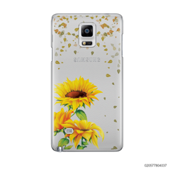 YOUR NAME IN SUNFLOWER GARDEN - Samsung Galaxy Note 4