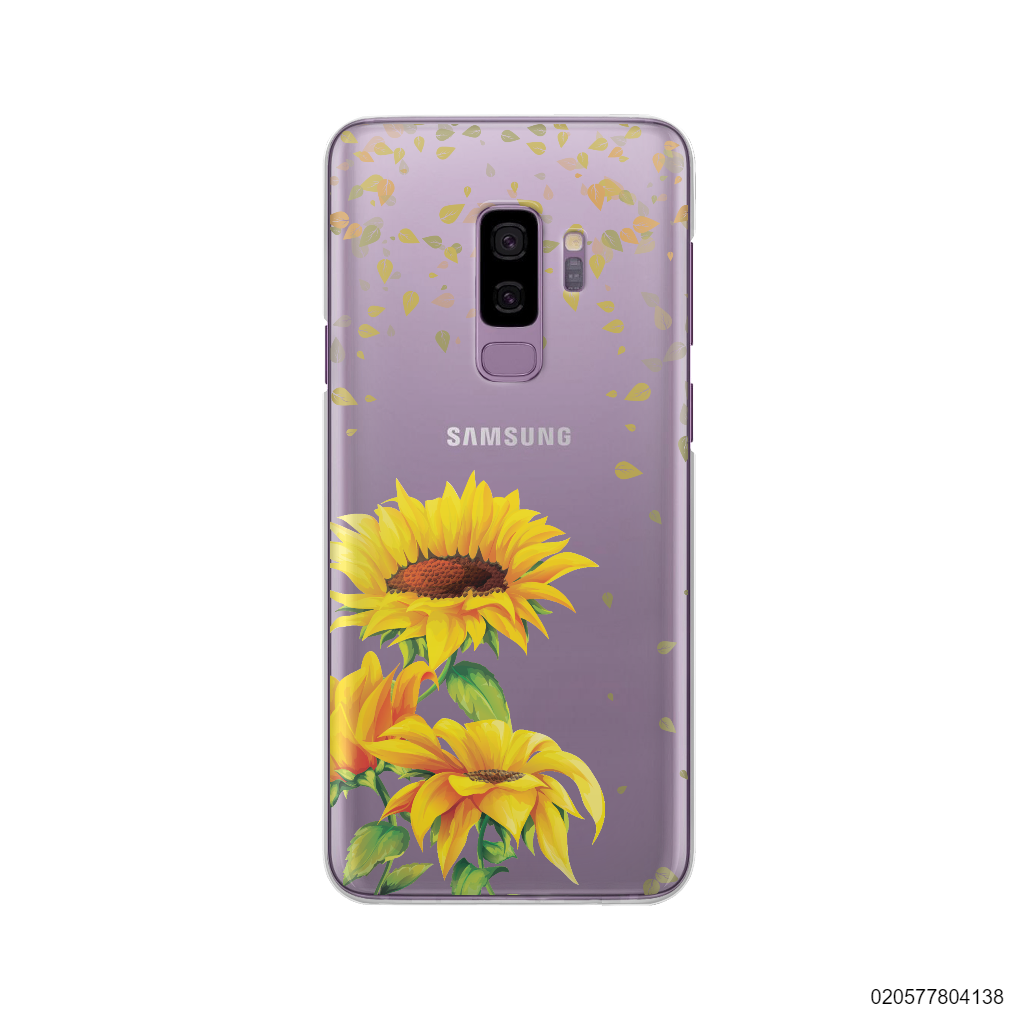 YOUR NAME IN SUNFLOWER GARDEN - Samsung Galaxy S9 Plus