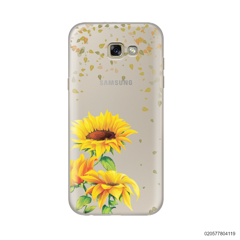 YOUR NAME IN SUNFLOWER GARDEN - Samsung Galaxy A7 2017