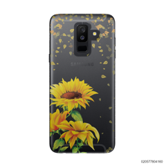 YOUR NAME IN SUNFLOWER GARDEN - Samsung Galaxy A6 Plus 2018
