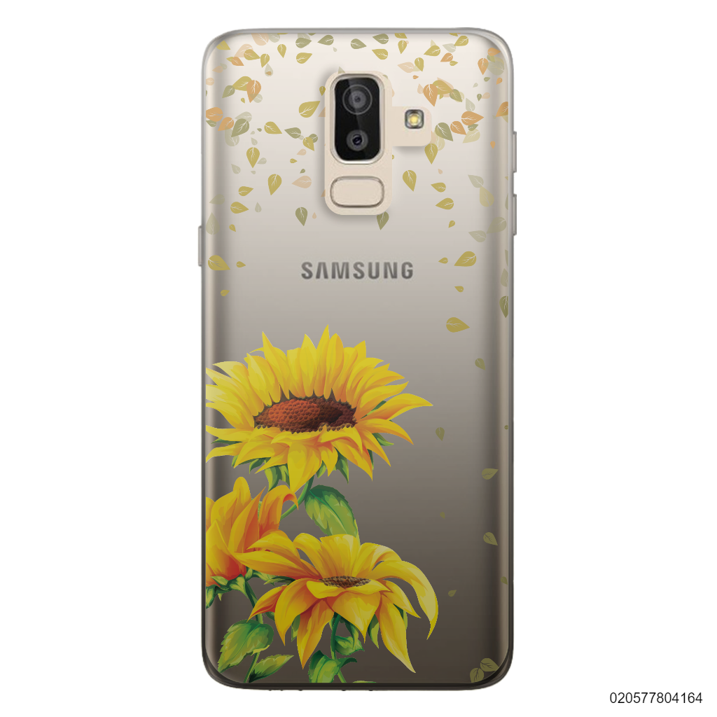 YOUR NAME IN SUNFLOWER GARDEN - Samsung Galaxy J8 2018