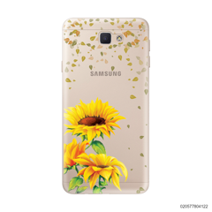 YOUR NAME IN SUNFLOWER GARDEN - Samsung Galaxy J5 Prime